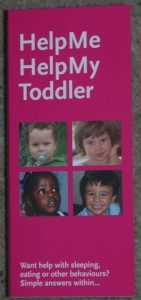 The Pamphlet for parents of 1-3 year olds